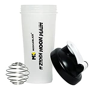 MuscleBlaze Protein Shaker - 650 ml (Color May Vary)