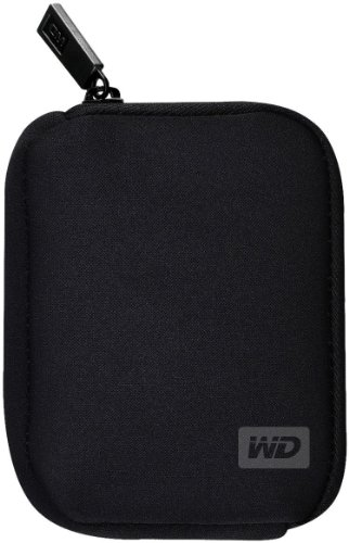 Western Digital - Funda para disco duro externo, 2.5', color negro