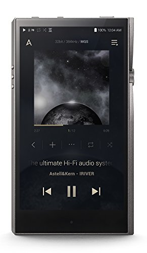 Astell&Kern SE100 A&futura Music Player - Titan Silver