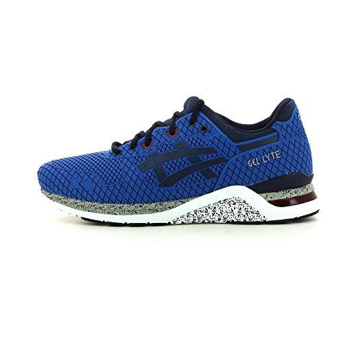 Asics HN543..4250 Sneakers Herren Gedrückt Blau - mid blue/ navy