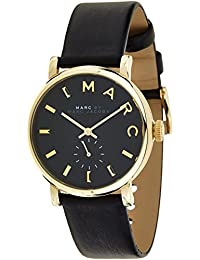 Marc Jacobs MBM1269 - Reloj con correa de cuero, para mujer, color negro