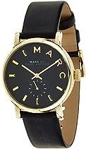Marc Jacobs Damen-Armbanduhr Analog Quarz Leder MBM1269