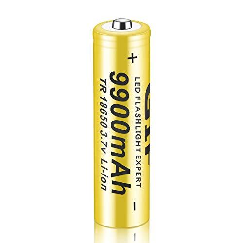 1 PC 3.7V Nueva batería Recargable de Iones de Litio 18650 9900mah Original protegida para Linterna LED antorchas...