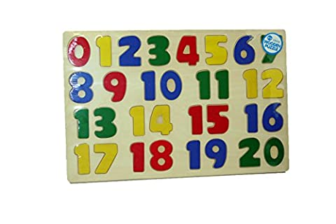 A to Z Wooden Number