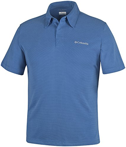 Columbia Sun Ridge Polo, Marine Blue, XL