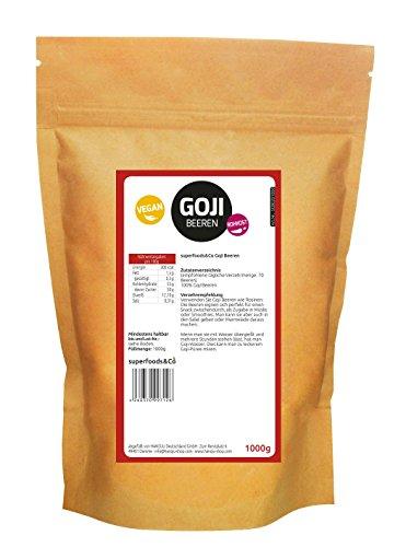 SC Goji Beeren - Rohkost, (380/50g) 1000 g