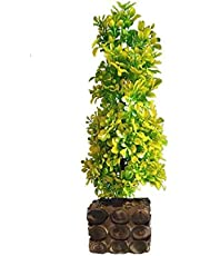 HYPERBOLES Artificial Bonsai Plant Tree for Home Decor Real Touch Plant - 16INCH