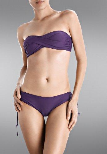 Beach Panties, Bikini Top, Hermosa, Bademode, Neckholder, Purple
