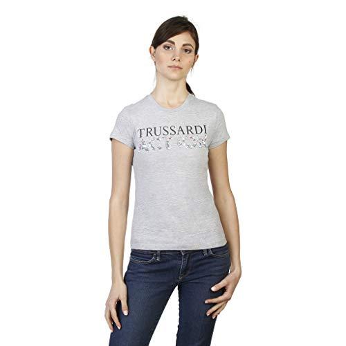 Trussardi 2bt03b t-shirt donna grigio m