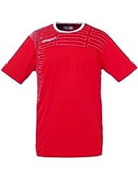 Uhlsport Match Teamsport kit (shirt & Short rts) ss rot/weiß