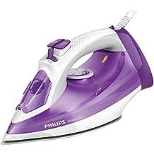 Philips GC2991/30 - Plancha a vapor 2300 W, golpe vapor 145g, suela SteamGlide antiarañazos y función limpieza fácil de la cal, morado