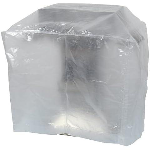Ribimex - Funda protectora para sillas de jardín (70 x 70 x 110 cm), transparente