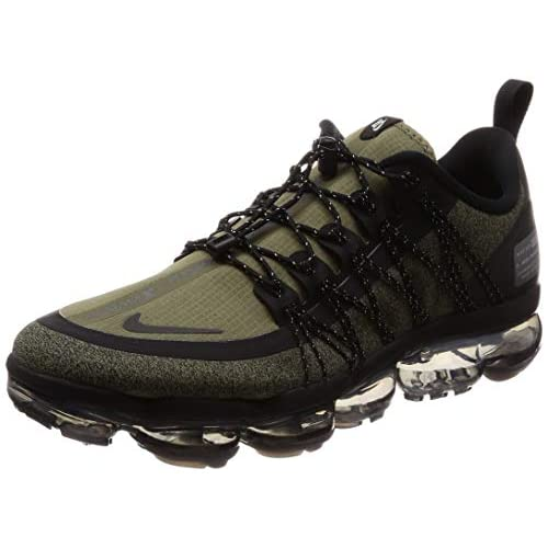 41ZUVhVsd9L. SS500  - Nike Men's Air Vapormax Run Utility, Medium Olive/Reflect Silver