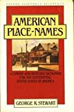 A Concise Dictionary of American Place Names (Oxford paperback reference)