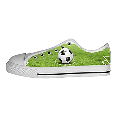 Custom Football des sports Men's Canvas Shoes Lace-up High-top Footwear Sneakers Chaussures de toile