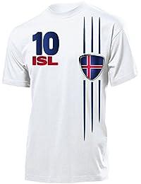 ISLAND FANSHIRT Herren T-Shirt Gr.S bis XXL