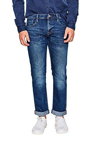 edc by ESPRIT Herren Straight Jeans 087CC2B005, Blau (Blue Medium Wash 902), W30/L34 (5-pocket-jeans)