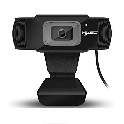 ZqiroLt 5 Megapixel Computer 720P 1080P Autofokus-HD-Webcam-Video-Chat-Kamera Black