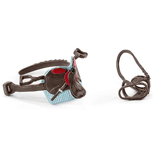 Schleich 42489 - Sattel & Zaumzeug Horse Club Hannah & Cayenne Spielzeug