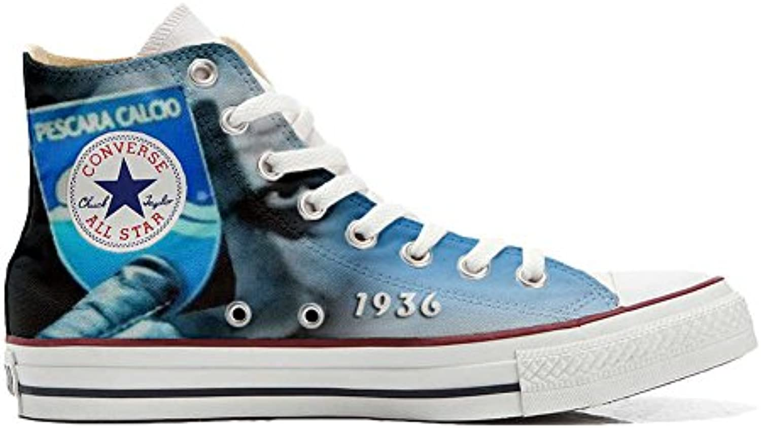 mys Converse All Star Personalisierte Schuhe   Handmade Shoes   Italian Soccer