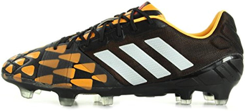 Adidas Nockenschuhe Nitrocharge 1.0 Fg Cblack/cwhite/sogold  Größe Adidas:10.5