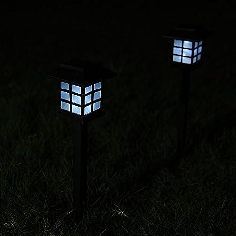 Set di 2luci LED Lanterna solare giardino