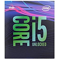 Intel Core i5 9600K 9th Gen 6 Cores up to 4.6 GHz Turbo Unlocked LGA1151 95W 9 m Cache DDR4 Desktop Processor