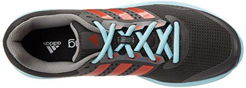 Adidas baskets duramo 7 m chaussures running chaussures de course pour homme noir/argenté Grey / Red / Grey