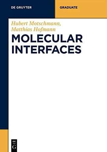 Molecular Interfaces (De Gruyter STEM) (English Edition)