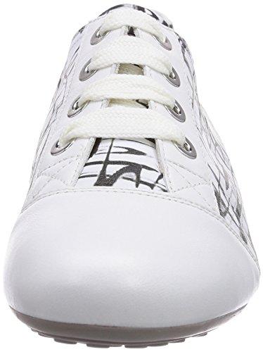 Semler - Nele, Sneakers da donna Multicolore (Mehrfarbig  (736 weiss/schwarz-weiss))