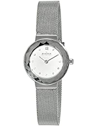(Renewed) Skagen Leonora Analog Silver Dial Womens Watch - 456SSS#CR