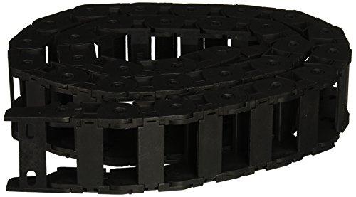 18x 18x 37mm en plastique Câble chaîne Drag fil Transporteur Noir 421/5,1cm