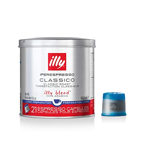 2 x illy 21 Espresso-Kapseln MIE-System, Lungo