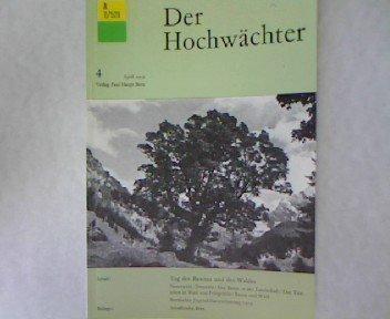 Der Hochwächter Nr. 4 April 1959.