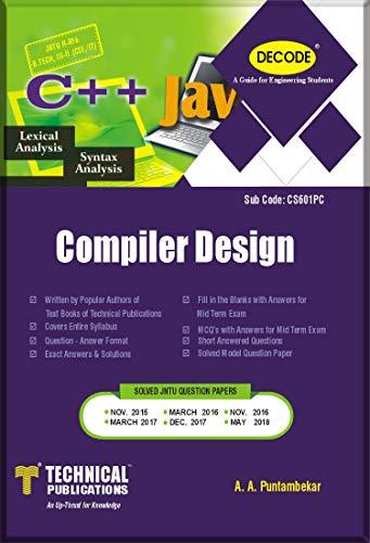 DECODE-Compiler Design for JNTU-H B.TECH III-II CSE/IT R16