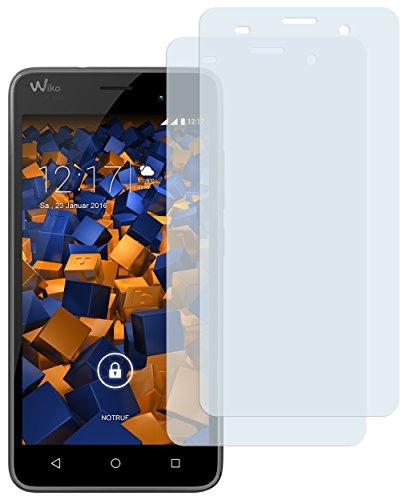 mumbi Schutzfolie kompatibel mit Wiko Jerry Folie matt, Bildschirmschutzfolie (2x)