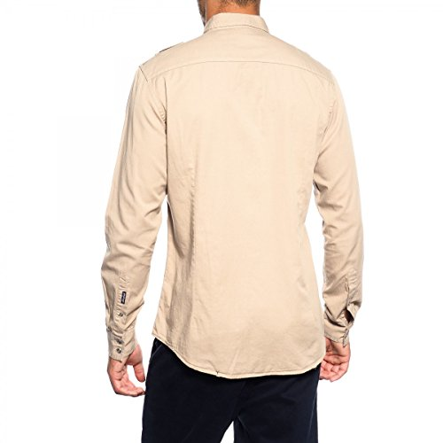 GIANNI LUPO Camicia GLS17041 Camel