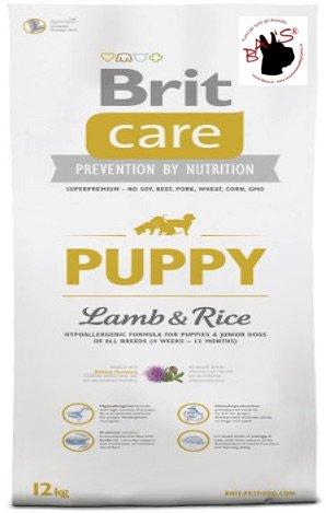 Brit Lamb und Rice Puppy, 1er Pack (1 x 12.1 kg) (Reis Lamm Puppy)