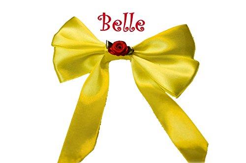 Disney Belle Princesse Nœud en cheveux clip diapositive Accessoire