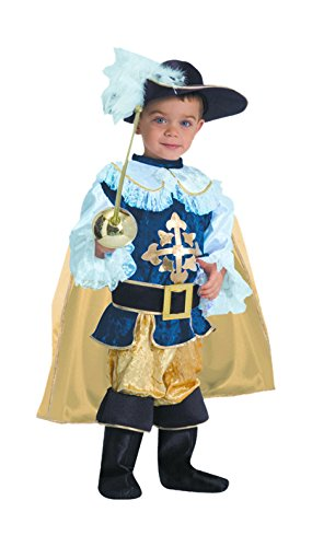 Dress Up America Deluxe Musketier Kinderkostüm Set