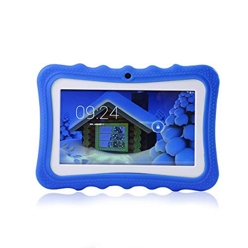 LayOPO Kinder-Tablet, 17,8 cm (7 Zoll), kinderfreundlich, 8 GB WiFi, Kid Edition Tablet mit Kamera blau