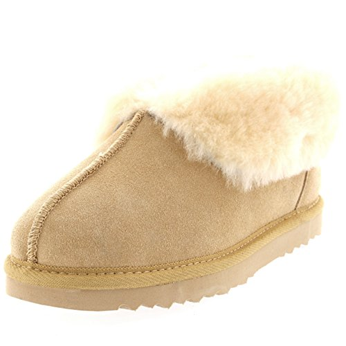 Di Stivali Pelliccia Delle Pecora Beige Scamosciata Di Pantofole Australiani Della Reali Donne Pelle Pelle x7w0aBRq
