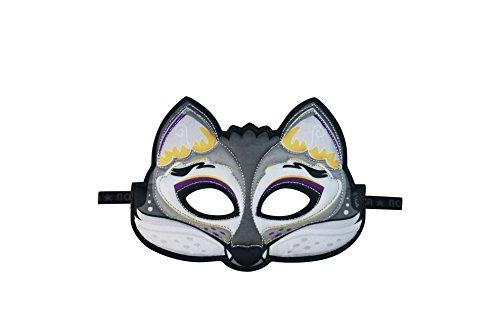 76 Animal Mask, Wolf, Maske Stoffmaske Tiermaske Wolf ()