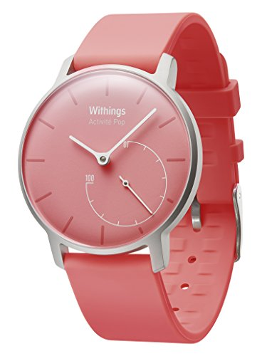 Withings Activité Pop – Activity & Sleep-Tracking Watch – Pink