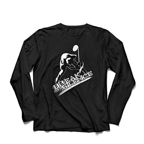 Long Sleeve T Shirt Men Break The Silence - Rock and Roll - Heavy Metal - Vintage Music Band Concert Merch