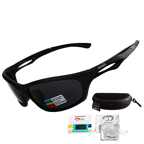Mmsww Ski-Brillen, Motorrad-Brille High-End-Sport-Outdoor-Reiten Sonnenbrille Polarisierte Nachtsichtgläser Angeln Polarizer Gläser,C