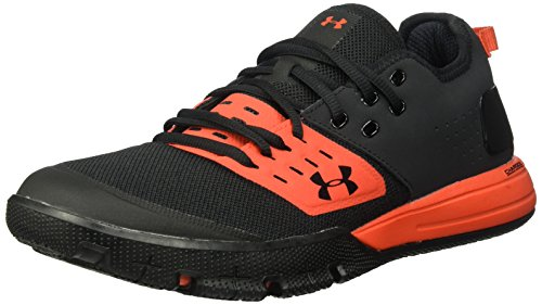 Under Armour UA Charged Ultimate 3.0, Scarpe da Fitness Uomo, Nero Radio Red/Black, 44 EU