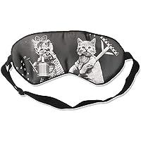 Cute Cats Farming Sleep Eyes Masks - Comfortable Sleeping Mask Eye Cover For Travelling Night Noon Nap Mediation... preisvergleich bei billige-tabletten.eu