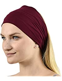 Jasmine Silk Unisex Bamboo Headband Hair Band