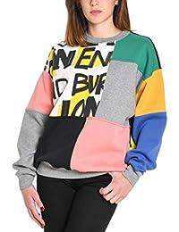 4d4a5af1b895 BURBERRY Femme 8002930 Multicolore Coton Sweatshirt